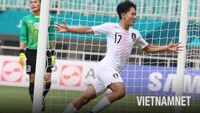 Ba bàn thắng kỹ thuật vào lưới Việt Nam của Olympic Hàn Quốc