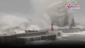 Siêu bão Jebi mạnh nhất trong 25 năm vùi dập Nhật Bản