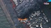 Những hình ảnh như 'ngày tận thế' ở Nhật Bản trong siêu bão Jebi