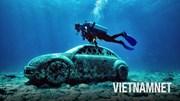 Ngụp lặn chiêm ngưỡng bảo tàng dưới biển độc nhất vô nhị ở Mexico