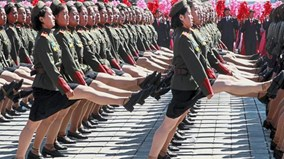 Hình ảnh siêu ấn tượng trong các sự kiện mừng 70 năm Quốc khánh Triều Tiên
