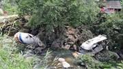 Lai Châu: Xe bồn mất lái đâm xe khách lao xuống vực, 13 người chết