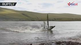 Xem xe tăng T-72 của Nga lặn nước vượt sông ngoạn mục