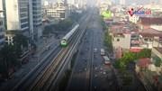 Đường sắt Cát Linh-Hà Đông chính thức chạy thử 5 tàu