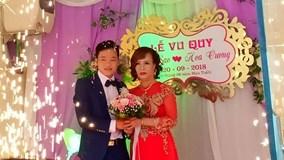 Cận cảnh đám cưới của cô dâu 61 và chú rể 26 tuổi