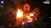 Cháy phim trường khiến 31 diễn viên bị bỏng