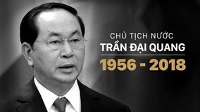 Thông cáo đặc biệt về Quốc tang Chủ tịch nước Trần Đại Quang