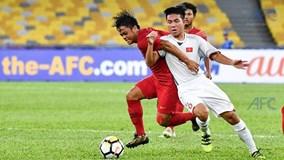Xem lại màn chia điểm đáng tiếc của U16 Việt Nam trước Indonesia