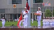 Lễ thượng cờ rủ Quốc tang Chủ tịch nước Trần Đại Quang