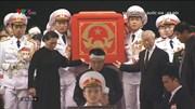 Lễ di quan đưa linh cữu Chủ tịch nước Trần Đại Quang về quê nhà