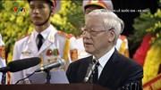 Tổng Bí thư đọc điếu văn tiễn biệt Chủ tịch nước Trần Đại Quang