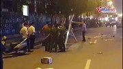 Hà Nội: Một người đi đường tử vong do thanh sắt rơi trúng đầu