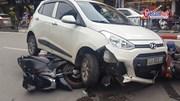 Tai nạn liên hoàn 7 xe trên phố Hà Nội