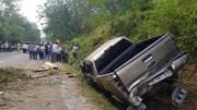 Hà Tĩnh: Xe bán tải lao vách núi, cán bộ công an tử nạn