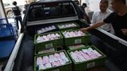 Người đàn ông chở gần 1 tấn tiền xu đi mua siêu xe