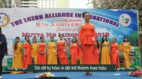 Hành trình đến với vương miện hoa hậu của cô gái giúp việc Philippines