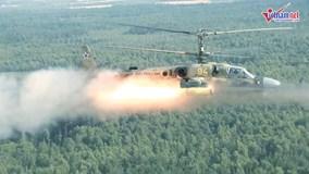 Sức mạnh 'quái thú' Ka-52 của không quân Nga