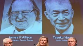 Giải mã phương pháp điều trị ung thư mới của hai nhà Nobel Y học 2018