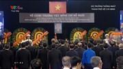 Lễ viếng nguyên Tổng bí thư Đỗ Mười tại hội trường Thống Nhất, TP.HCM