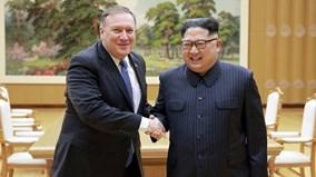 Ông Kim 'tươi như hoa' trong cuộc gặp với Ngoại trưởng Mỹ