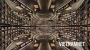 Khám phá 'thư viện ảo ảnh' với những hàng sách dài bất tận ở Trung Quốc