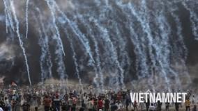 Thứ 6 chìm trong máu lửa và biểu tình trên Dải Gaza