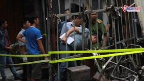 1 người tử vong  trong vụ cháy 3 căn nhà tại Trung Văn