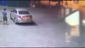 Tài xế ô tô quỵt tiền đổ xăng ở Hà Nội