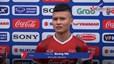 Quang Hải tiết lộ mục tiêu của tuyển Việt Nam ở AFF Cup
