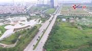 Thênh thang đường 10 làn xe nối 2 tuyến vành đai Hà Nội