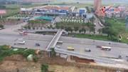 Cầu vượt chữ Z cho người đi bộ và xe máy đầu tiên ở Thủ đô