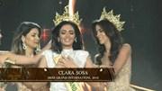 Hoa hậu Hòa bình Quốc tế 2018 bất ngờ ngất xỉu khi đăng quang