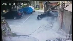 Pha đỗ xe gây thiệt hại nhất năm của nữ tài xế