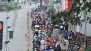Ngày rối loạn phố Kim Mã: Xế hộp ngỡ ngàng, xe máy chen nhau hít khói