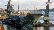 Tàu sân bay duy nhất của Nga gặp nạn, bị hư hỏng nặng