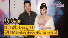 Vy Oanh khởi đầu tháng 11 với MV mới đánh dấu sự trở lại