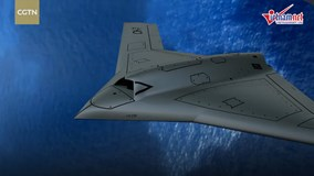Máy bay chiến đấu không người lái, tàng hình mới toanh của Trung Quốc