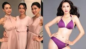 Hành trình chinh chiến của Nguyễn Thúc Thùy Tiên ở Hoa hậu Quốc tế 2018