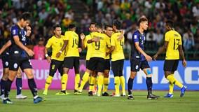 Chỉ cần 1 bàn, Malaysia lấy 3 điểm trước Campuchia