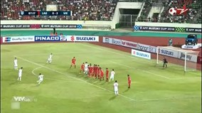 Quang Hải sút phạt tuyệt đẹp nâng tỷ số lên 3-0 cho tuyển Việt Nam