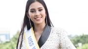 Trần Tiểu Vy rạng rỡ ngày lên đường dự thi Miss World