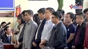 Hình ảnh các bị cáo tại phiên toà xét xử cựu tướng công an