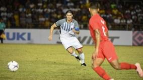 Philippines 1-0 Singapore:  HLV Eriksson có chiến thắng đầu tay tại AFF Cup