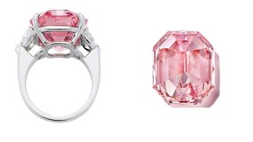 Viên kim cương hồng có giá kỷ lục 1.160 tỉ đồng