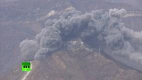 Hàn Quốc - Triều Tiên phá hủy các trạm gác trong khu phi quân sự