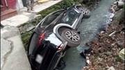 Nữ tài xế CX5 lao thẳng xe xuống mương