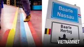 Đường biên giới 'điên rồ nhưng thú vị' nhất thế giới giữa Bỉ và Hà Lan