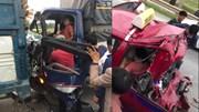Tai nạn hy hữu: Tài xế xe tải bị tông 2 lần liên tiếp trên cao tốc
