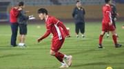 ĐTVN tập kín, quyết giành 3 điểm trước Campuchia trên sân Hàng Đẫy
