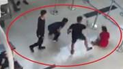 Nhóm thanh niên tát, đạp ngã nữ nhân viên hàng không ở Thanh Hóa